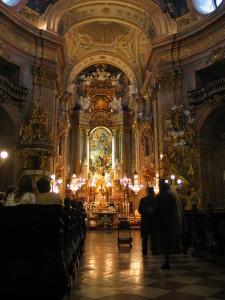 Peterskirche,Wien,Altar